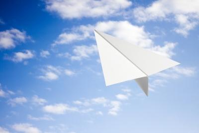 紙飛行機 自分年表