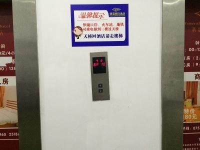 深センエレベーターボタン